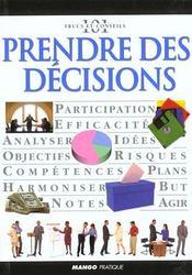 Prendre des decisions - Intérieur - Format classique