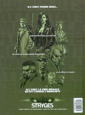 Le chant des stryges - saison 1 T.1 ; ombres - 4ème de couverture - Format classique
