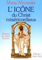 Icone Du Christ Misericordieux - Couverture - Format classique