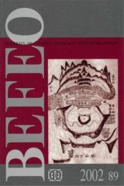 Bulletin Efeo N.89 - Couverture - Format classique