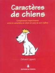 Caracteres De Chiens - Intérieur - Format classique