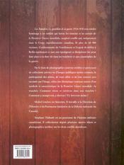 Les tranchées ; le quotidien de la guerre 1914-1918 - 4ème de couverture - Format classique