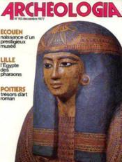 Archeologia n°113 décembre 1977 - Couverture - Format classique