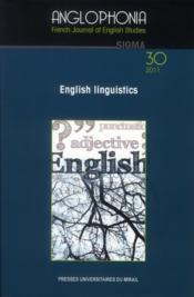 Revue Anglophonia - Couverture - Format classique