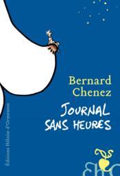 Journal sans heures - Couverture - Format classique