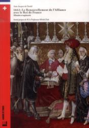 1663, l'alliance avec le Roi de France ; histoire et tapisserie - Couverture - Format classique