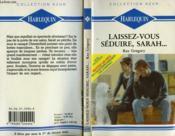 Laissez Vous Seduire Sarah... - Breaking The Ice - Couverture - Format classique