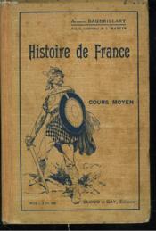 Histoire De France. Cours Moyen. - Couverture - Format classique
