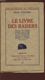 LE LIVRE DES BAISERS - Bibliothèque du Hérisson. - Couverture - Format classique