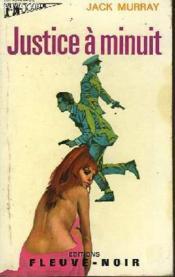 Justice A Minuit - Et - La Mort Sort De L'Ombre - Couverture - Format classique