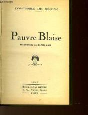 Pauvre Blaise - Couverture - Format classique