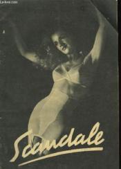 Scandale - Mode Et Travaus N°584 - Couverture - Format classique