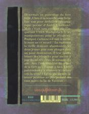 Le livre brûlé t.2 ; dans les eaux noires du lac - 4ème de couverture - Format classique