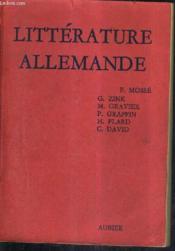Histoire De La Litterature Allemande / Nouvelle Edition Mise A Jour. - Couverture - Format classique