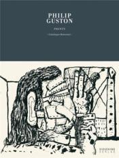 Philip guston prints - Couverture - Format classique