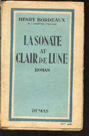 La Sonate Au Clair De Lune. - Couverture - Format classique