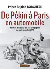 De Pékin à Paris en automobile - Couverture - Format classique