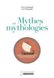 Mythes et mythologie - Couverture - Format classique