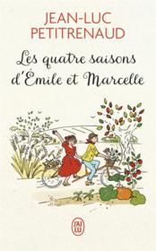 Les quatre saisons d'Emile et Marcelle - Couverture - Format classique