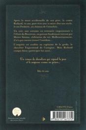 Le royaume de Naguerre ; l'elixir du bourreau - 4ème de couverture - Format classique