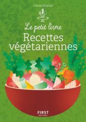 Recettes végétariennes - Couverture - Format classique