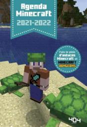 Minecraft ; agenda (édition 2021/2022) - Couverture - Format classique