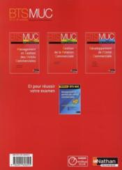 Gestion de la relation commerciale ; bts MUC ; par la pratique ; élève (édition 2008) - Couverture - Format classique