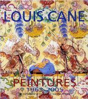 Louis cane, peintures 1963-2005 - Intérieur - Format classique