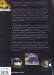 Poissons-anges ; pomacanthides - 4ème de couverture - Format classique