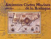 Anciennes cartes marines de la Bretagne - Intérieur - Format classique