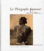 La photographie japonaise sous l'ère meiji - Intérieur - Format classique