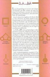 Psychogénéalogie - 4ème de couverture - Format classique