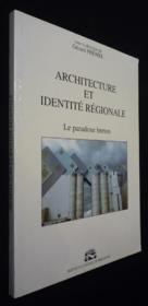 Architecture Et Identite Regionale - Couverture - Format classique