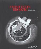 Constantin Brodzki Architecte Texte Francais - Intérieur - Format classique