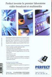 L'Annuaire Des Producteurs Et Des Distributeurs 1999 - 4ème de couverture - Format classique