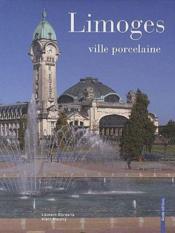 Limoges - ville porcelaine - Couverture - Format classique