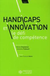 Handicaps et innovation ; le défi de compétence - Couverture - Format classique