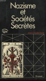 Nazisme Et Societes Secretes - Couverture - Format classique