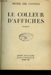 Le Colleur D'Affiches Roman - Couverture - Format classique