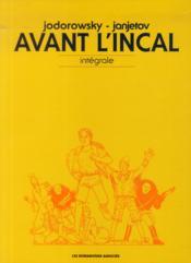 Avant l'Incal ; COFFRET INTEGRALE - Couverture - Format classique