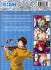 Alice au royaume de trèfle t.5 - 4ème de couverture - Format classique