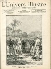 L'UNIVERS ILLUSTRE - TRENTE SIXIEME ANNEE N° 2018 Au Dahomey - Couverture - Format classique