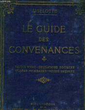 Le Guide Des Convenances - Couverture - Format classique