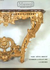 1 Catalogue De Vente Aux Encheres - Tableaux, Des 19° Et 20° Siecles , Tablaeux Anciens, Meubles Et Objets D'Art - Couverture - Format classique