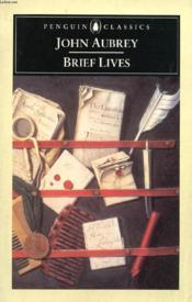 Brief Lives - Couverture - Format classique