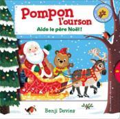 Pompon l'ourson aide le Père Noël - Couverture - Format classique