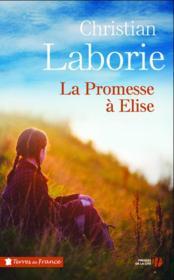 La promesse à Elise - Couverture - Format classique