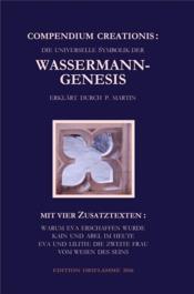 Compendium creationis die universelle symbolik der wasserman - Couverture - Format classique
