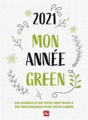 Agenda mon année green (édition 2021) - Couverture - Format classique