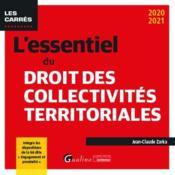 L'essentiel du droit des collectivités territoriales (édition 2020/2021) - Couverture - Format classique